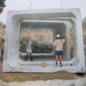 Absolute Concrete Precast Concrete 4m x3m Cattle Underpass