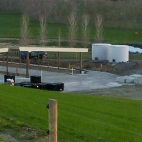 Absolute Concrete Pre Cast Effleunt Wash Down Tanks