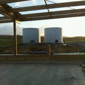 Absolute Concrete Pre Cast Floodwash tanks