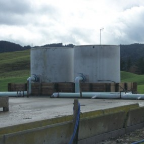 Absolute Concrete Floodwash tank after