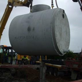 Absolute Concrete Pre Cast Retention Tank