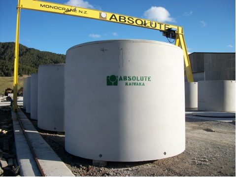 Precast Concrete Water Tanks Absolute Concrete