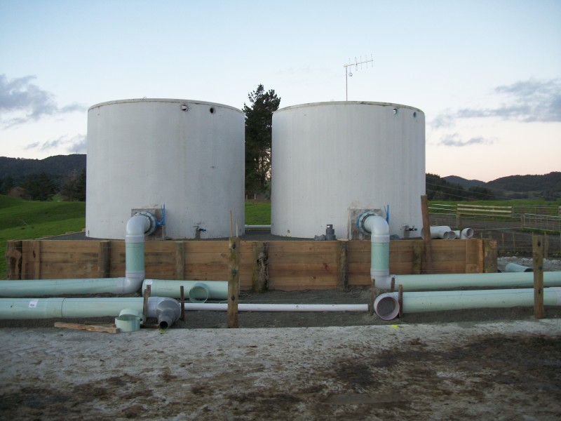 Absolute Concrete Effluent Floodwash Tank